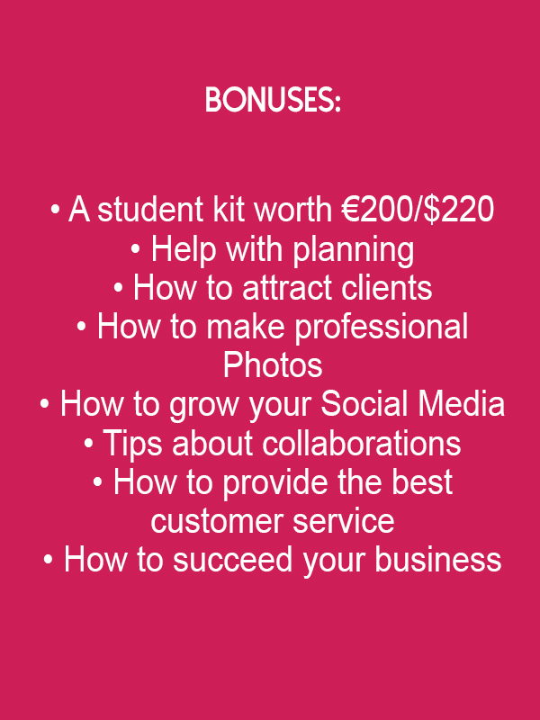 Bonuses online course synthetic dreads