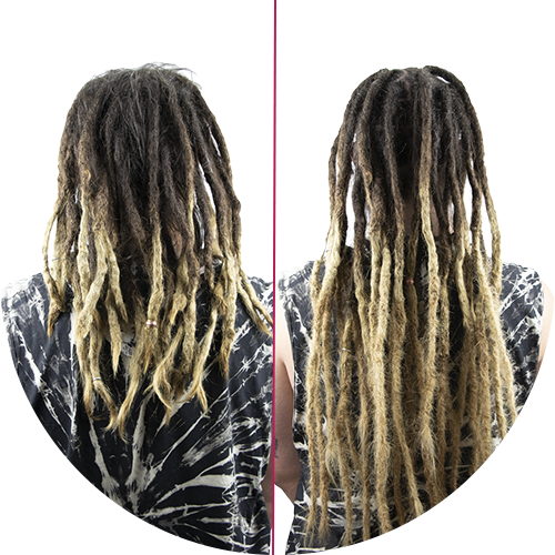 Extended Dreads