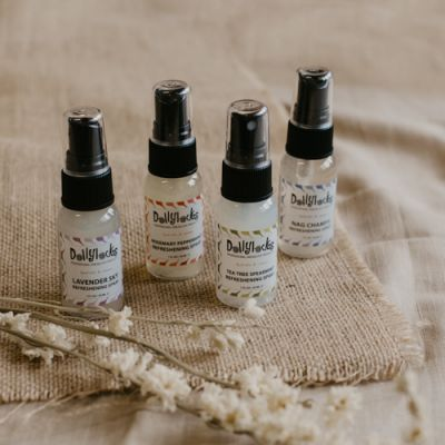 Refreshening Spray Sampler 4 pack